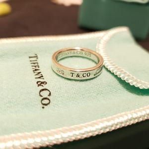 Tiffany & Co. 1837 ring- size 6